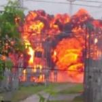 【動画】おそロシア、シベリアの変電所で大規模な爆発!巨大な爆炎が膨れ上がる! [海外]