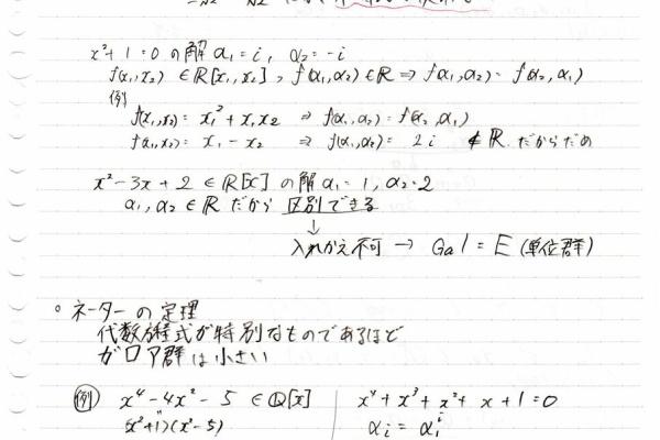 理論 ガロア ガロア理論を要するにでまとめてみた