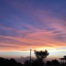 夕焼け雲の…