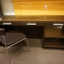 「「「値下げしました!Hukla BRSシリーズ Desk BRSN-6449/DB」」椅子付」
