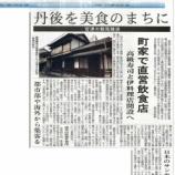『北近畿経済新聞に掲載されました』の画像