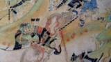13世紀に描かれた日本の山賊の絵の中に白人がいてワロタ