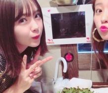 『萩原舞が藤田ニコルと食事してる!!』の画像