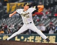【阪神】藤川球児9回2死から登板 7月以来の勝ち試合締め