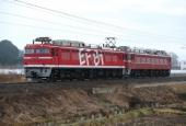 『2015/12/24運転 EF81-95+EF81-81配給』の画像