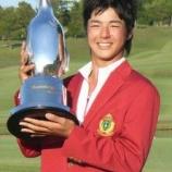 『プロゴルファー石川遼の華麗なるヘアスタイルを徹底比較 【ゴルフまとめ・ゴルフウェア ユニクロ 】』の画像