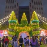 『新北歡樂耶誕城は夜市だった』の画像