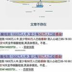 【動画】中国、武漢PCR検査結果「50万人感染」報道!関連記事がすぐ削除される! [海外]