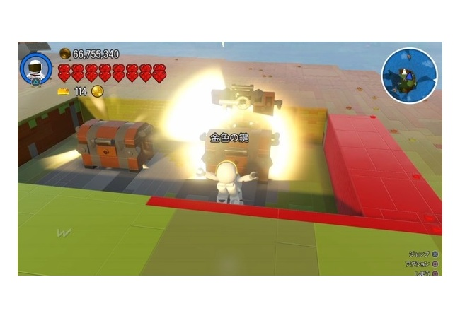 【レゴワールド PS4】10億スタッドのトロフィー入手方法、金色鍵増殖バグ・稼ぎのやり方