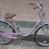 『リサイクル自転車 26インチ軽快車 L型フレーム』の画像