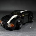 本日のレゴ新作、黒いスポーツカーです。