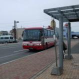 『【北海道ひとり旅】宗谷岬北上の旅 雄武から枝幸 バスの旅『宗谷バス: 黄昏時に海岸線を走りました』』の画像