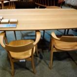『【飛騨の家具 先行予約会 2013】飛騨産業の侭シリーズのダイニングテーブル』の画像