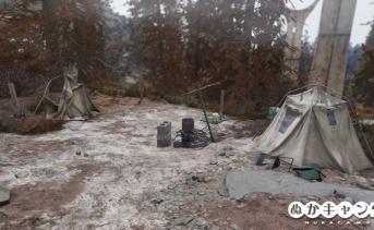 スプルース・ノブ・キャンプ場(Spruce Knob campground)