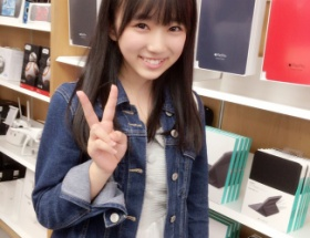 HKT48矢吹奈子(14)、携帯を修理に行くが未成年のため断られる