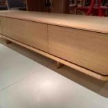 『シラカワ・曲面デザインのテレビボード・RAPT』の画像