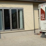 『多度津町にモイス付きカップボードとイバタインテリアのダイニングセットを納品』の画像