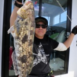 『5月3日 釣果 スロージギング アイナメ53センチで大漁!!』の画像