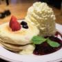 【東京 銀座】エッグスンシングス Eggs'n Things銀座店 クリームチーズのブリュレパンケーキ