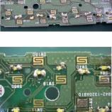 『自動車内装パネルのLED交換(LED打ち替え)とハンダ付けの修正手術』の画像