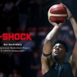 『プロバスケットボールプレイヤー 八村 塁がTEAM G-SHOCK に新加入‼️』の画像