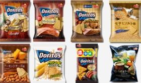【日本のお菓子】   なぜこんなに色んな種類が・・・。  日本のドリトスが 味の種類が多すぎて やばい。  海外の反応