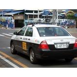 『戸田市を守る民間パトロールカー(後姿)』の画像