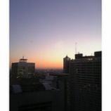『都心の夕日』の画像