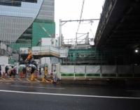 『今度は山手線渋谷駅の線路移設』の画像