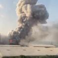 【衝撃】ベイルート爆発、たった500メートル先から撮影された映像が発見されてしまう