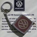 「本物が出来た! VWマーク入りメジャーキーホルダー!」