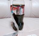 【悲報】俺不器用、無事コーラのリボン作りに失敗wwwww