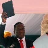 『ジンバブエ情勢:新大統領と民主化の行く末は。』の画像