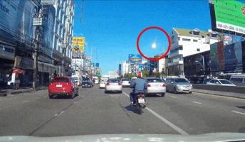タイ、バンコクで『隕石と思われる何か』が観測される!【動画あり】