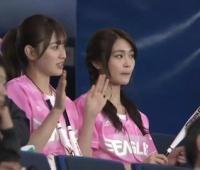 【欅坂46】あかねん・虹花、ピンクのユニ似合ってるね
