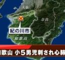 小5男児刺されて意識不明の重体 犯人逃走中 和歌山