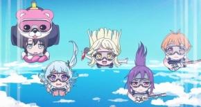 【ガルパ☆ピコ】第11話 感想 ハロハピ、スカイダイビングしながら演奏