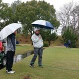 『雨の中の第3回NSB定例ゴルフツアー!!』の画像