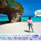 『【留美子讃歌 23】今日の留美子さんはブルーで統一したコーディネート』の画像