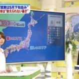 『【気象予報士】奈良岡希実子   ムッチリショーパン 160730』の画像