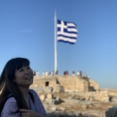 ギリシャしてるよ。
