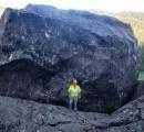 道路に「建物サイズ」の巨岩が落下、開通の見通し立たず コロラド州