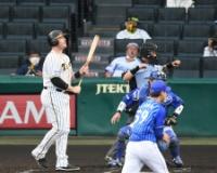 【阪神】初回の先制機逸す。2死一、三塁でボーア見逃し三振。