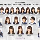 『【乃木坂46】『13日の金曜日』オリジナルメンバーがほぼいなくなるという衝撃の事実・・・』の画像