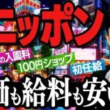『【悲報】日本の驚異的な「安さ」は 働く人の我慢と犠牲が支えていることが判明・・・』の画像