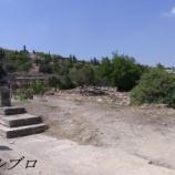 『ギリシャ アテネ旅行記11 自称イタリア人旅行者に絡まれるトラブル発生!古代アゴラを一緒に観光する羽目に・・・』の画像