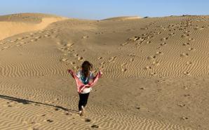 インドの砂漠ツアーで感じたこと