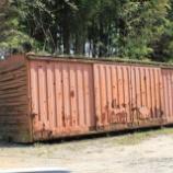 『放置貨車 ワム80000形ワム188736』の画像