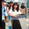 上海に到着した横山ゆいはんのファッションwwwwwwwwwwww