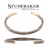 『入荷 | STUDEBAKER METALS Workshop Cuff Sterling - Patina』の画像